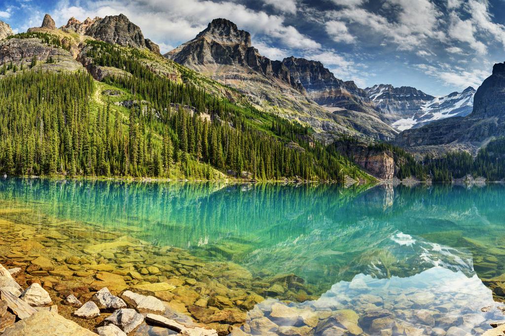 Озеро Охара в Канаде, фото 1