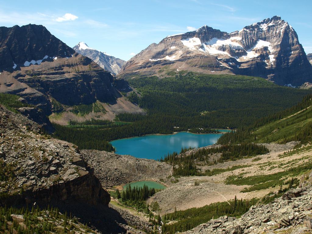 Озеро Охара в Канаде, фото 4