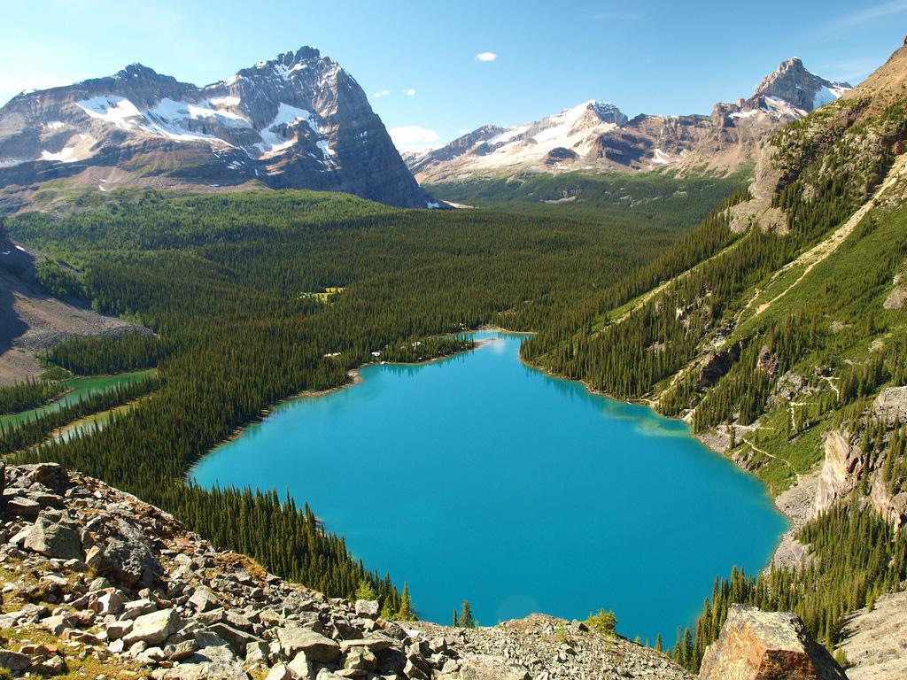 Озеро Охара в Канаде, фото 8