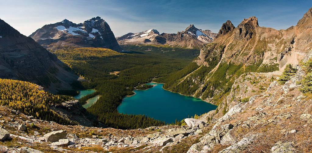Озеро Охара в Канаде, фото 9