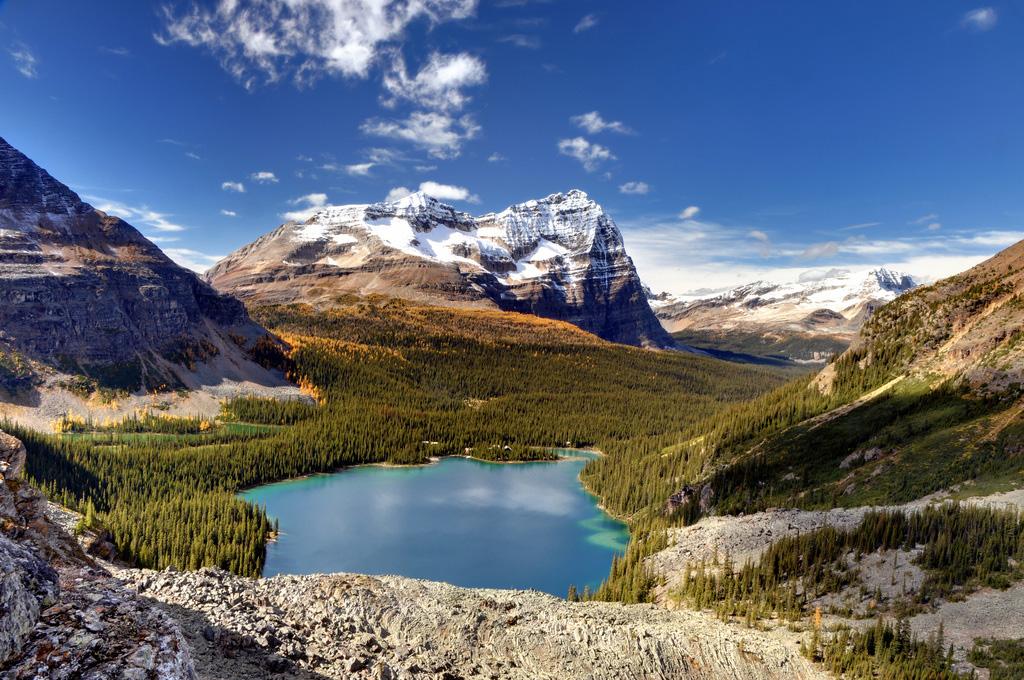 Озеро Охара в Канаде, фото 10