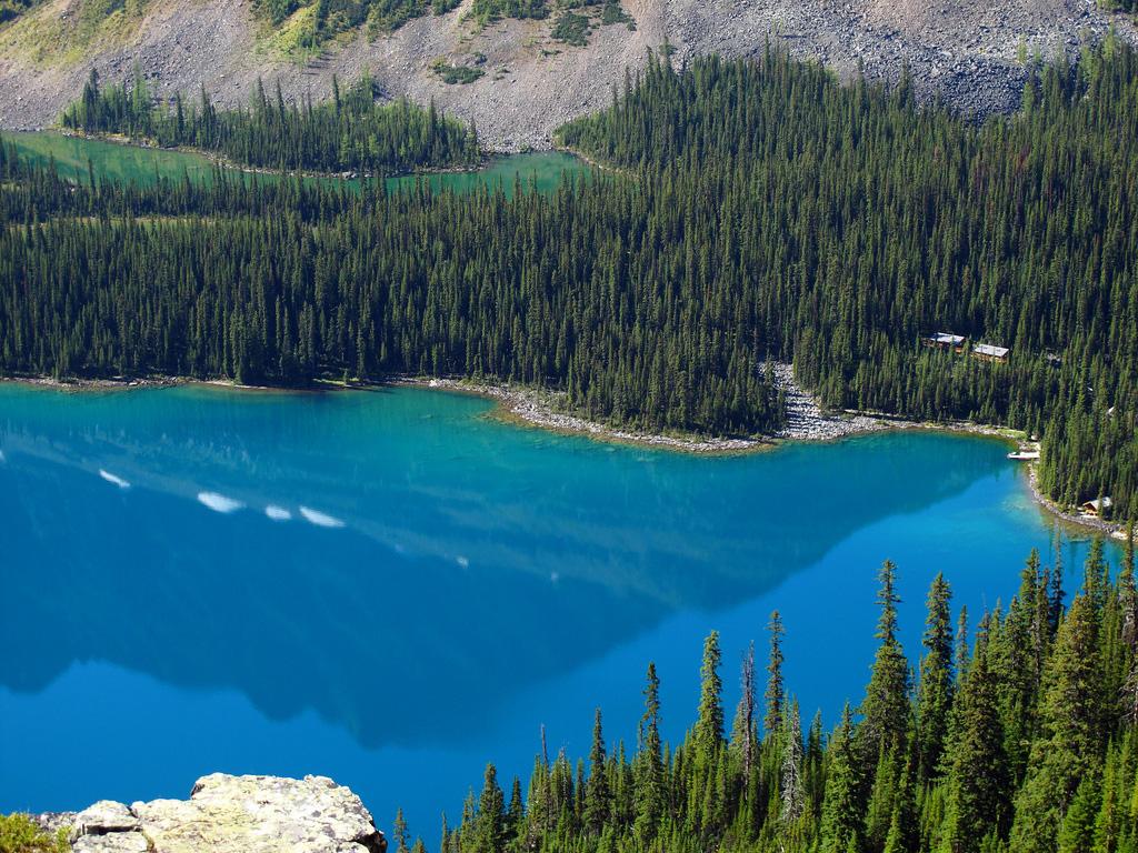Озеро Охара в Канаде, фото 12