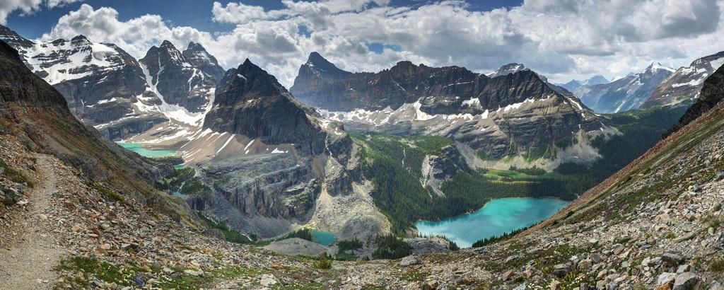Озеро Охара в Канаде, фото 15