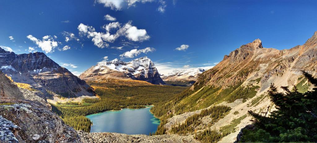 Озеро Охара в Канаде, фото 16