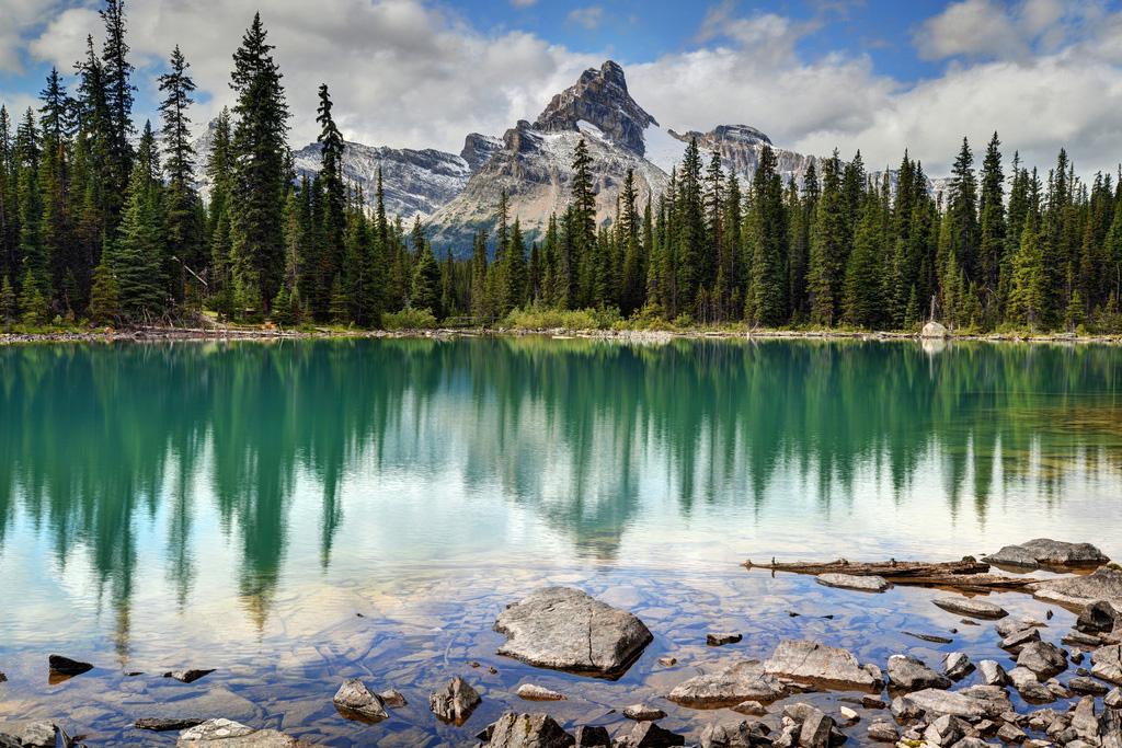 Озеро Охара в Канаде, фото 18