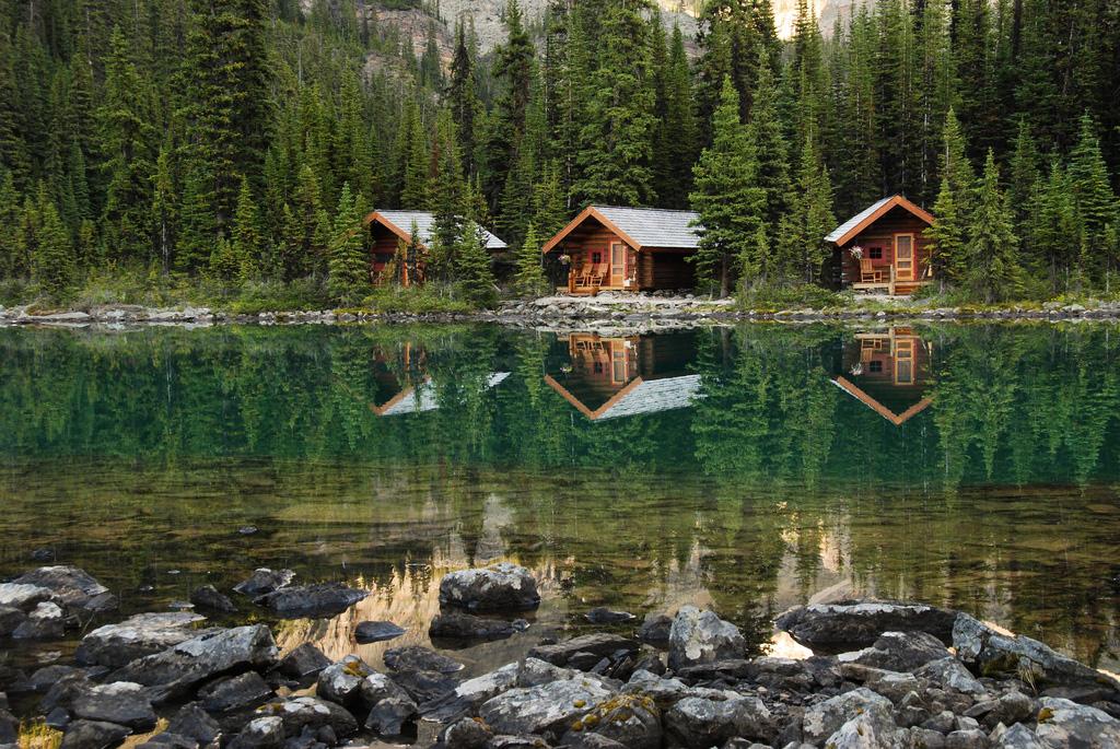 Озеро Охара в Канаде, фото 20