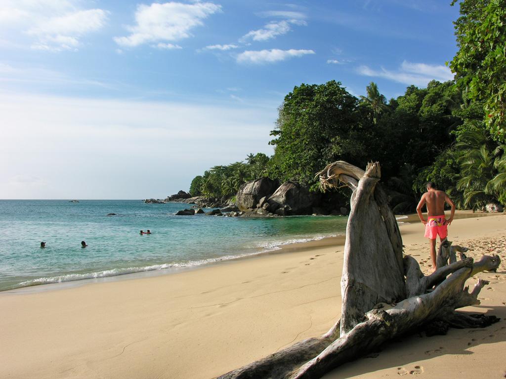 Пляж Бо Валлон на Сейшелах, фото 1