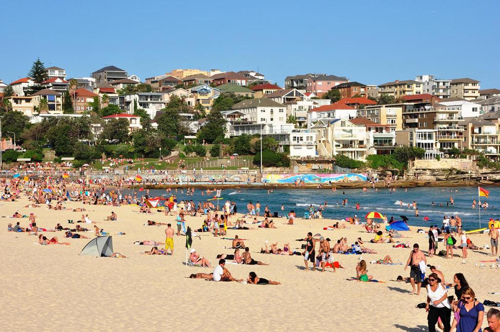 Пляж Бонди в Австралии, фото 1