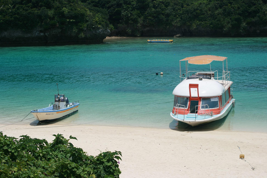 Пляж Исигаки в Японии, фото 1
