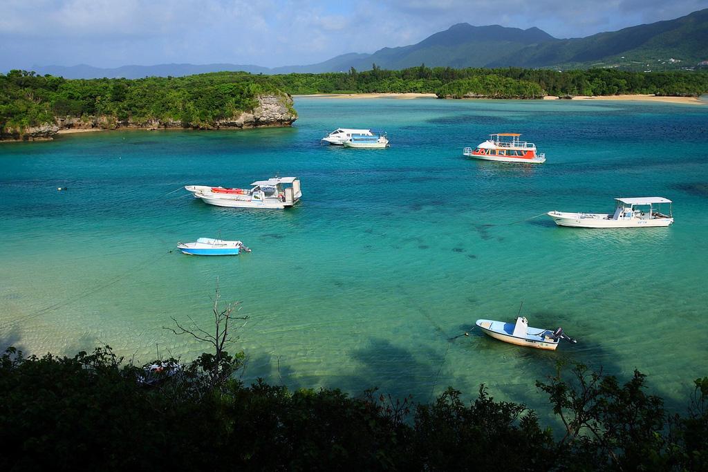 Пляж Исигаки в Японии, фото 3