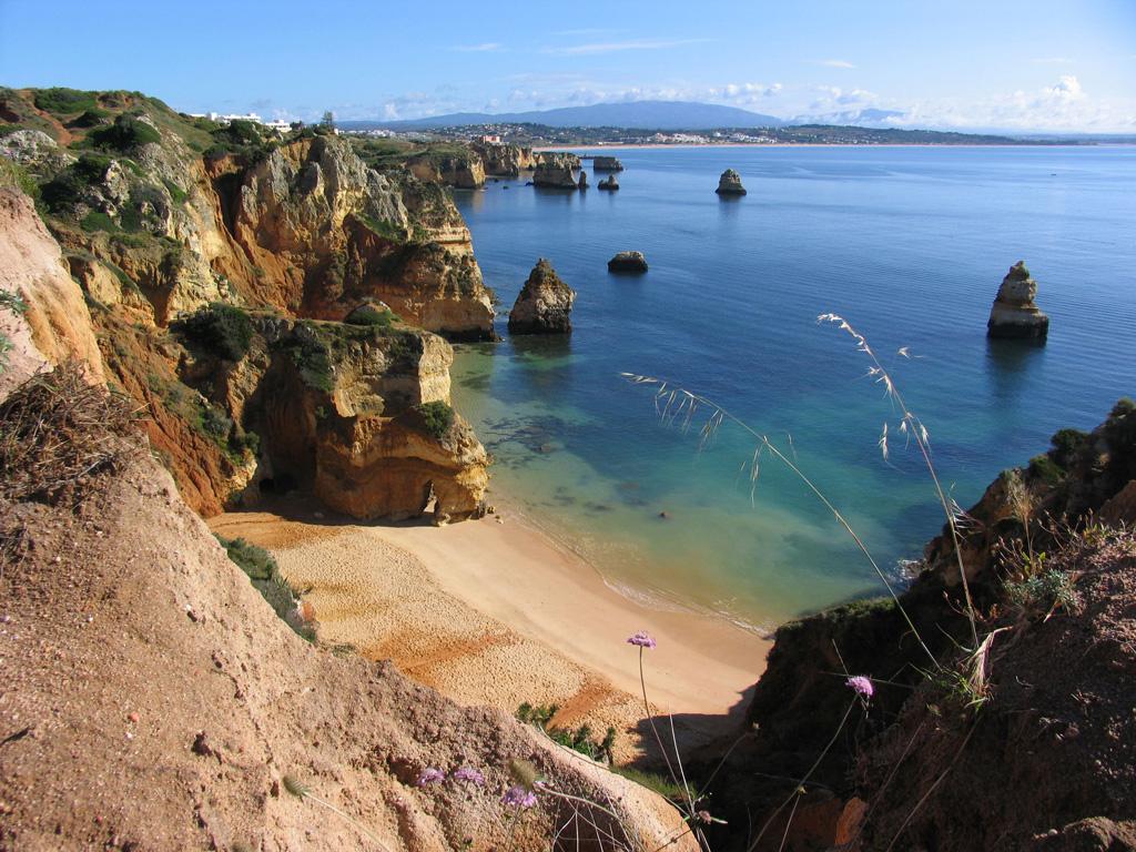 Пляж Лагош в Португалии, фото 1