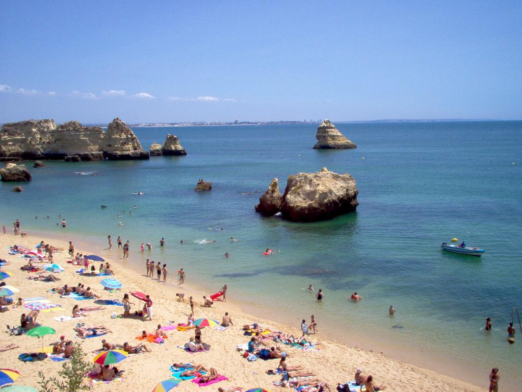 Пляж Лагош в Португалии, фото 6