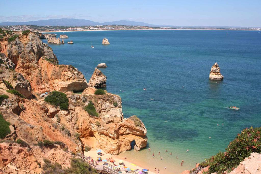 Пляж Лагош в Португалии, фото 8