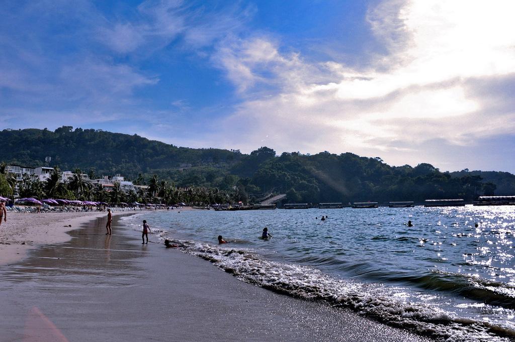 Пляж Патонг в Таиланде, фото 5