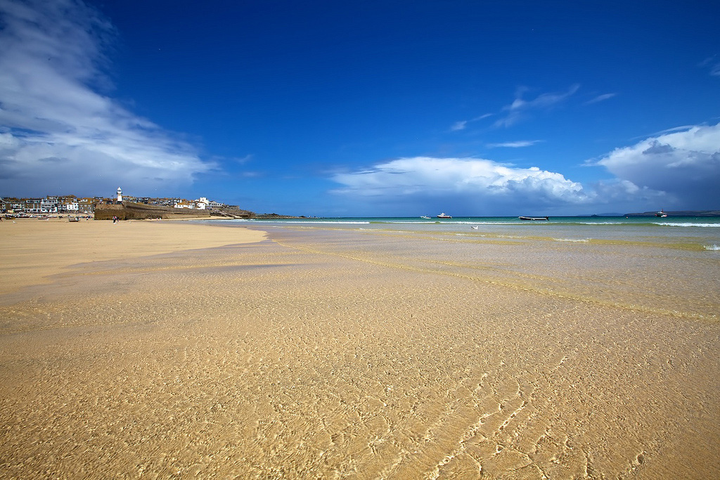 Пляж Портминстер в Великобритании, фото 1