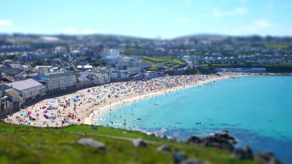 Пляж Портминстер в Великобритании, фото 5