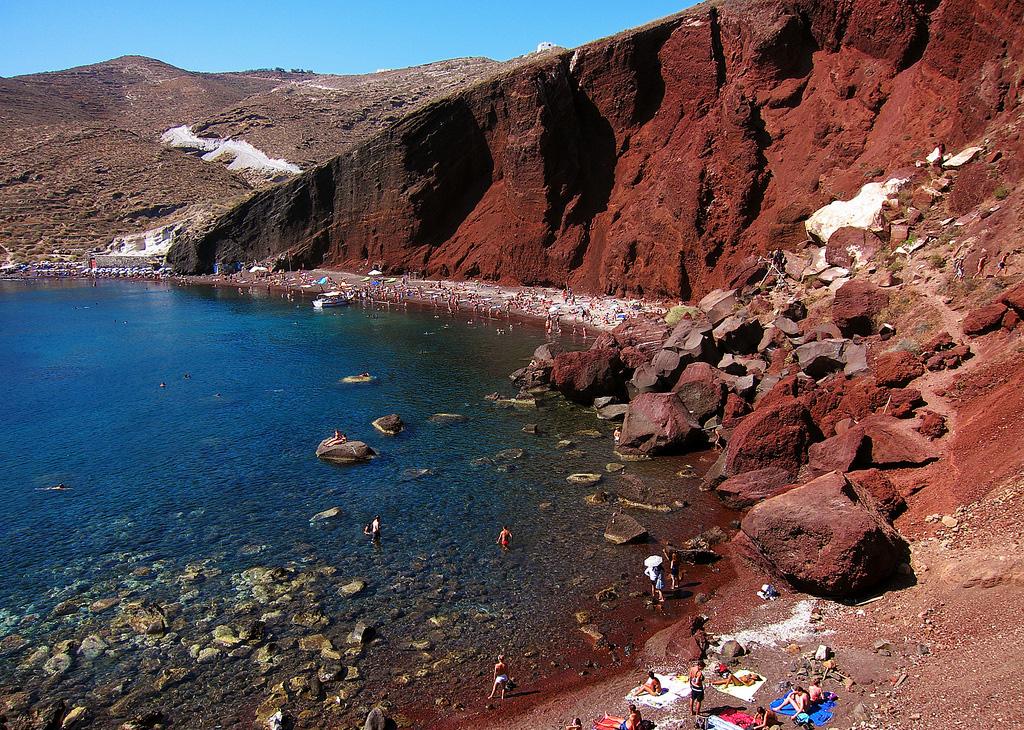 Пляж Ред Бич в Греции, фото 1