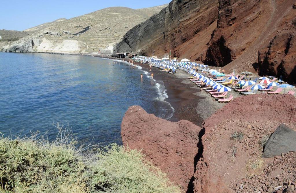 Пляж Ред Бич в Греции, фото 2