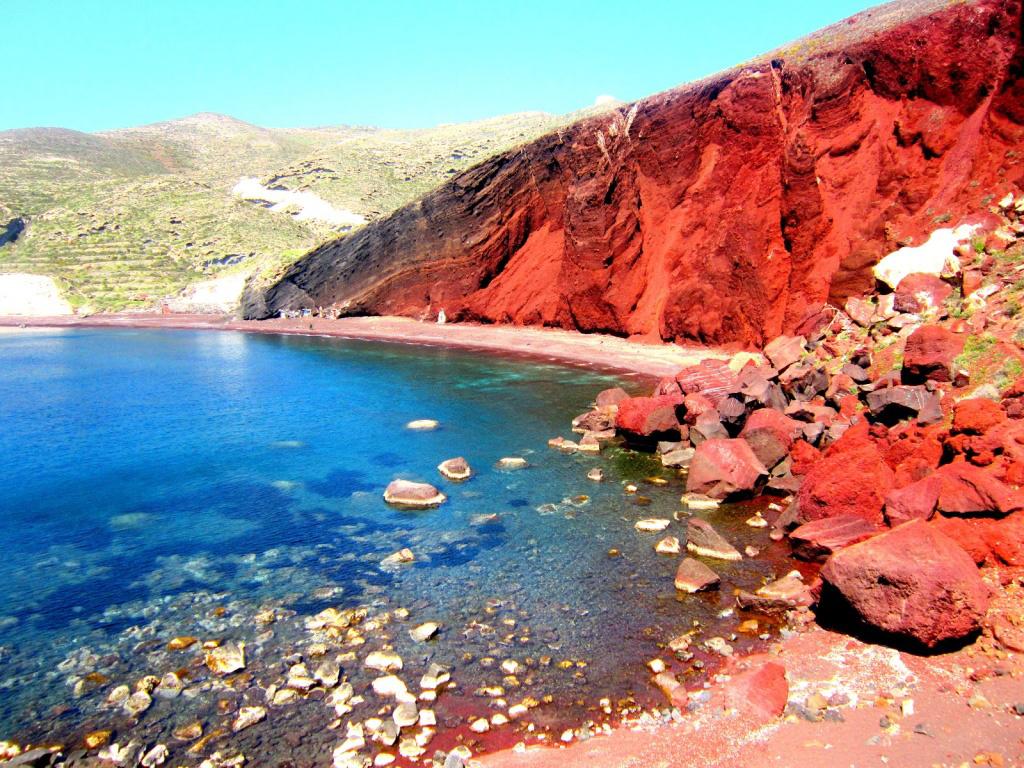 Пляж Ред Бич в Греции, фото 3