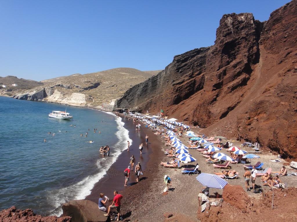 Пляж Ред Бич в Греции, фото 4