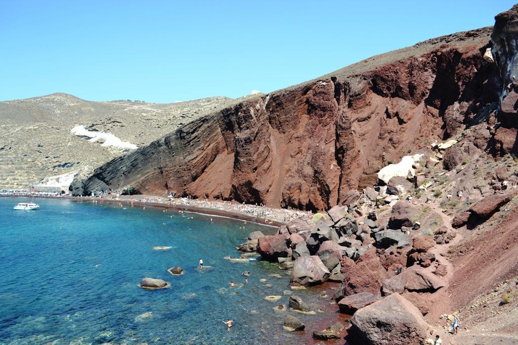 Пляж Ред Бич в Греции, фото 6