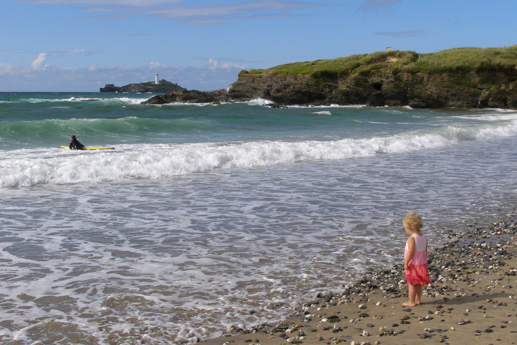 Пляж Сент-Айвз в Великобритании, фото 2