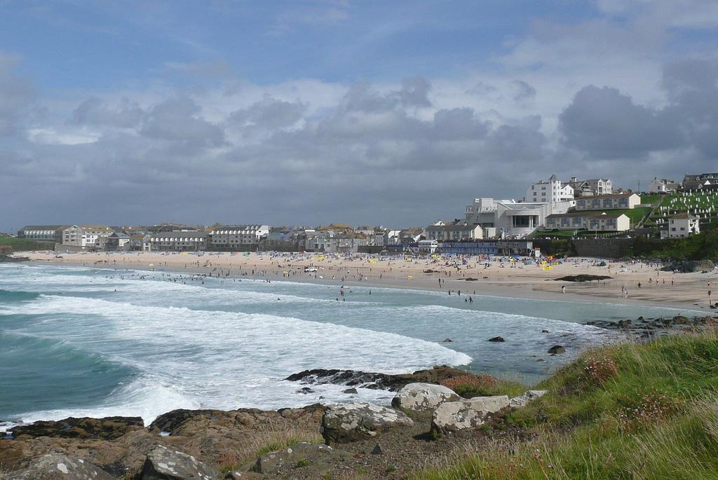 Пляж Сент-Айвз в Великобритании, фото 3