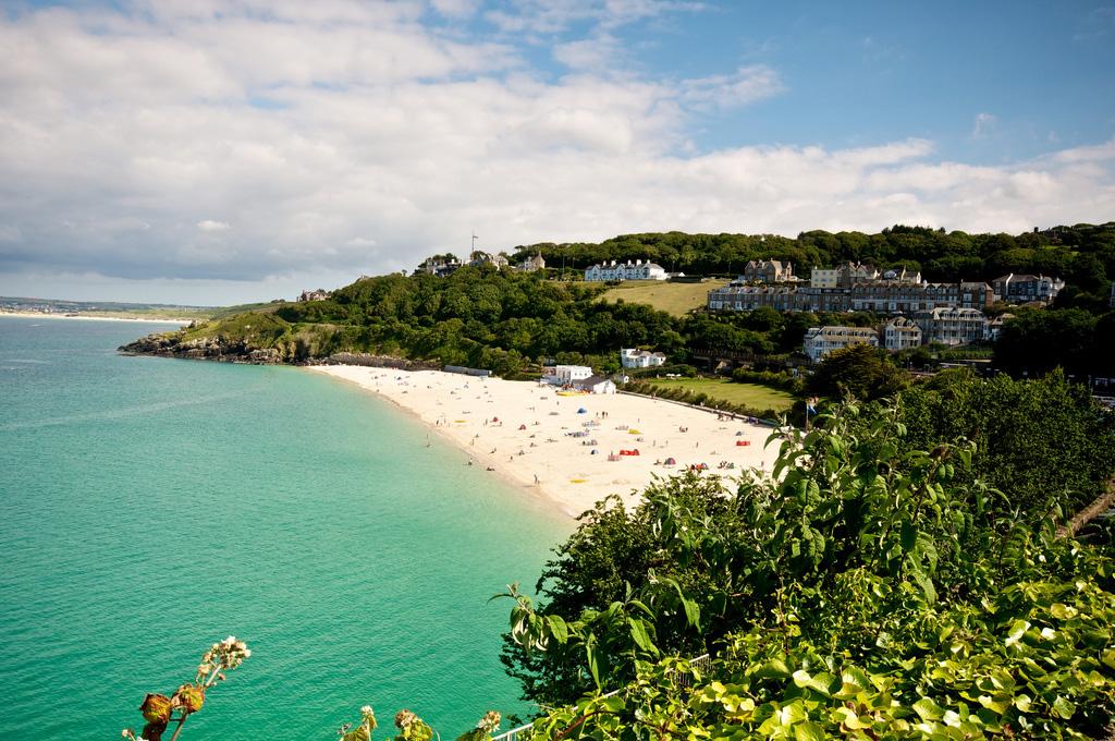 Пляж Сент-Айвз в Великобритании, фото 7