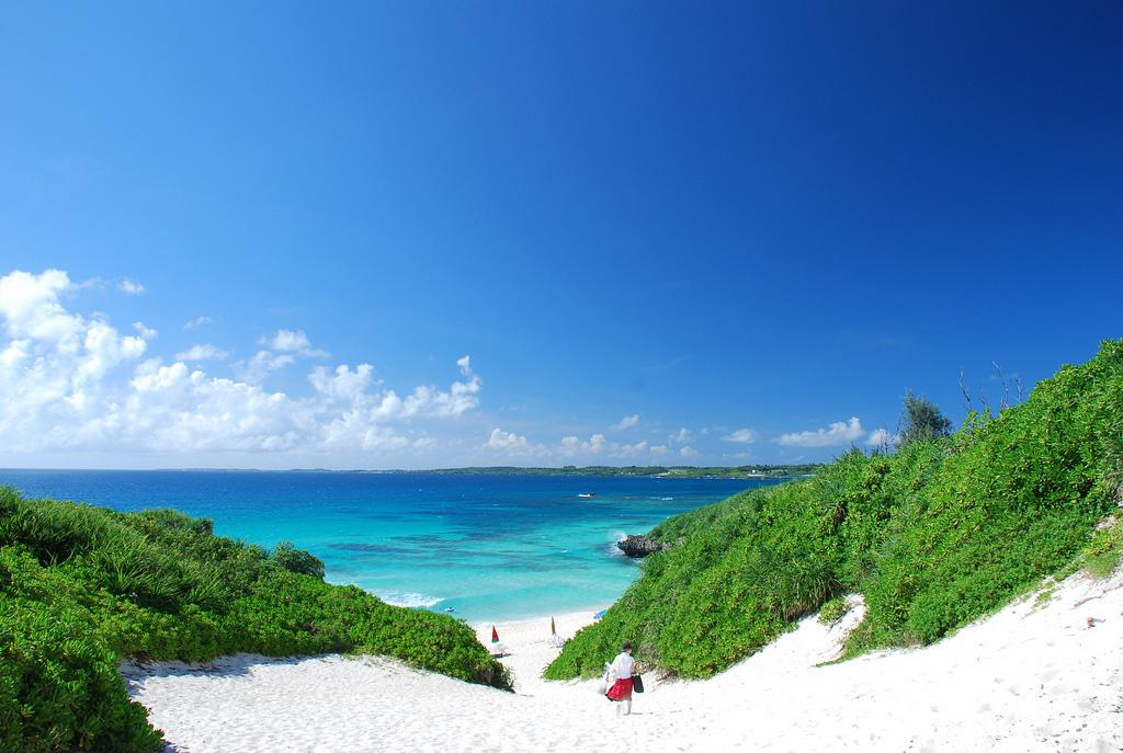 Пляж Сунаяма в Японии, фото 1