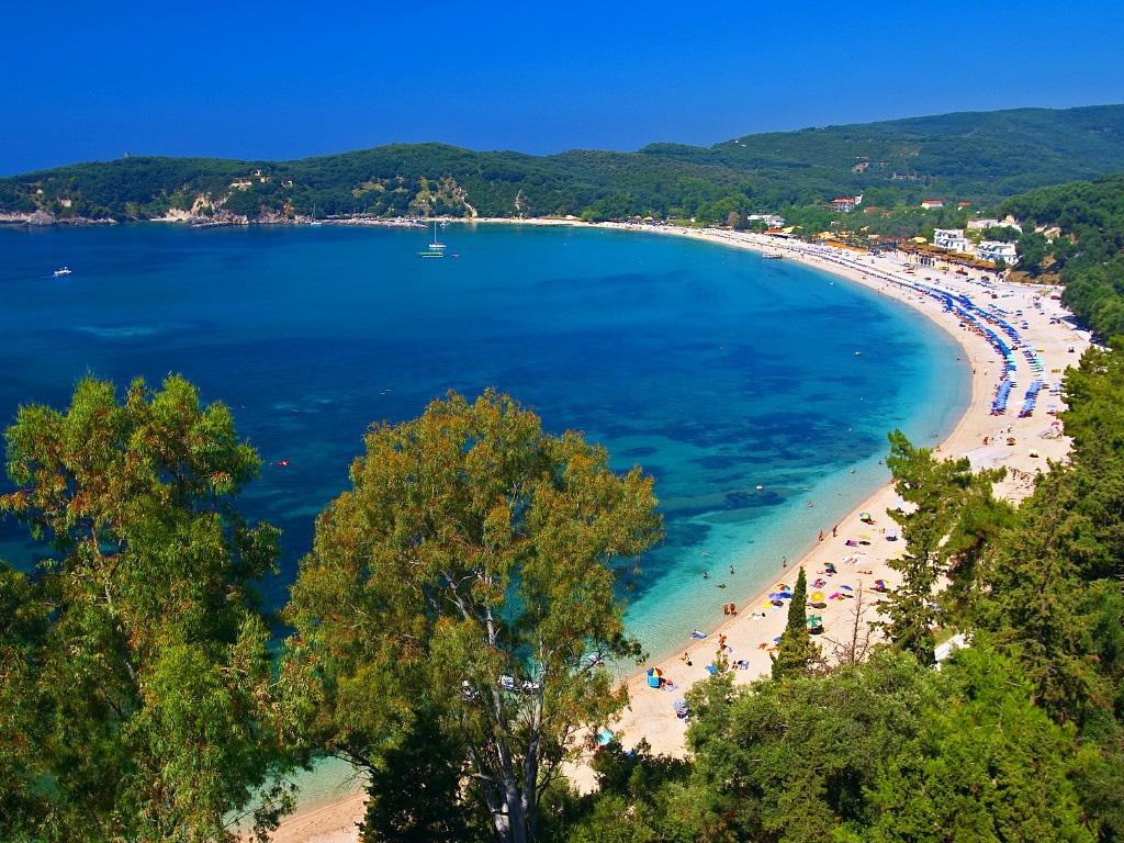 Пляж Валтос в Греции, фото 1
