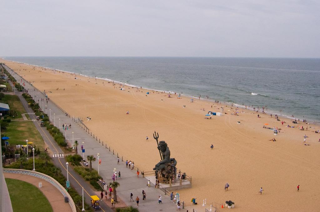 Пляж Вирджиния-Бич в США, фото 2