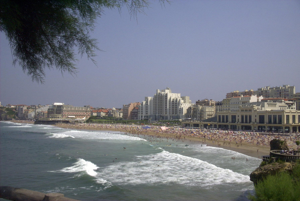 Пляж Биарриц во Франции, фото 2