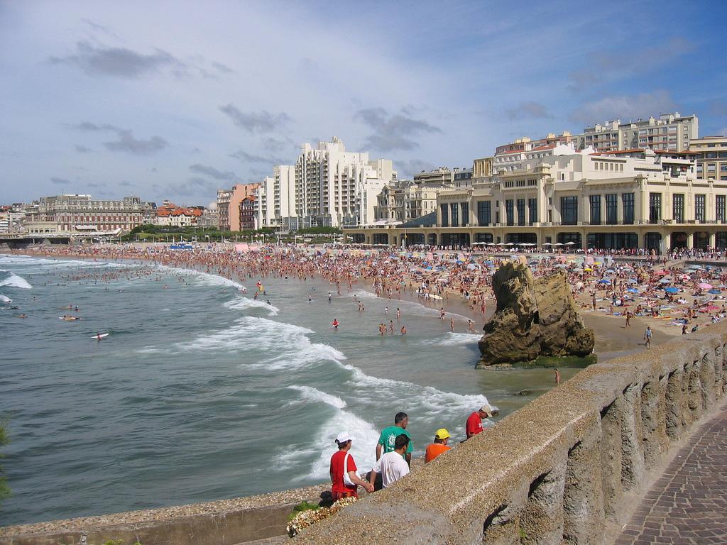 Пляж Биарриц во Франции, фото 3