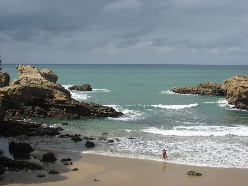 Пляж Биарриц во Франции, фото 4