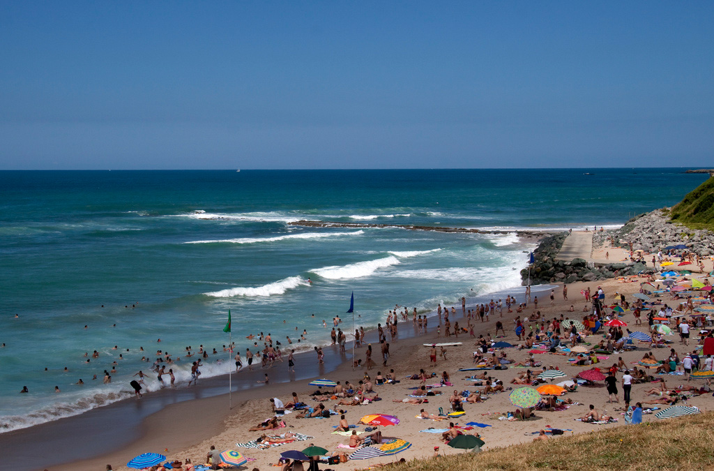 Пляж Биарриц во Франции, фото 6