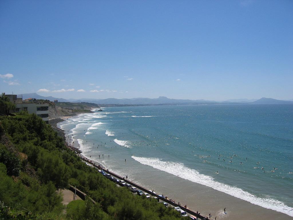 Пляж Биарриц во Франции, фото 7