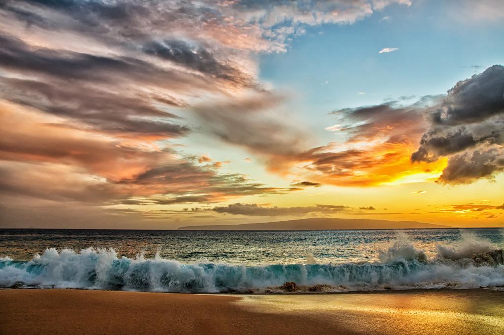 Пляж Биг Бич в США, фото 1