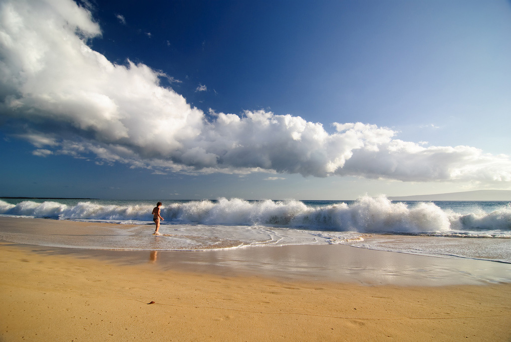 Пляж Биг Бич в США, фото 6