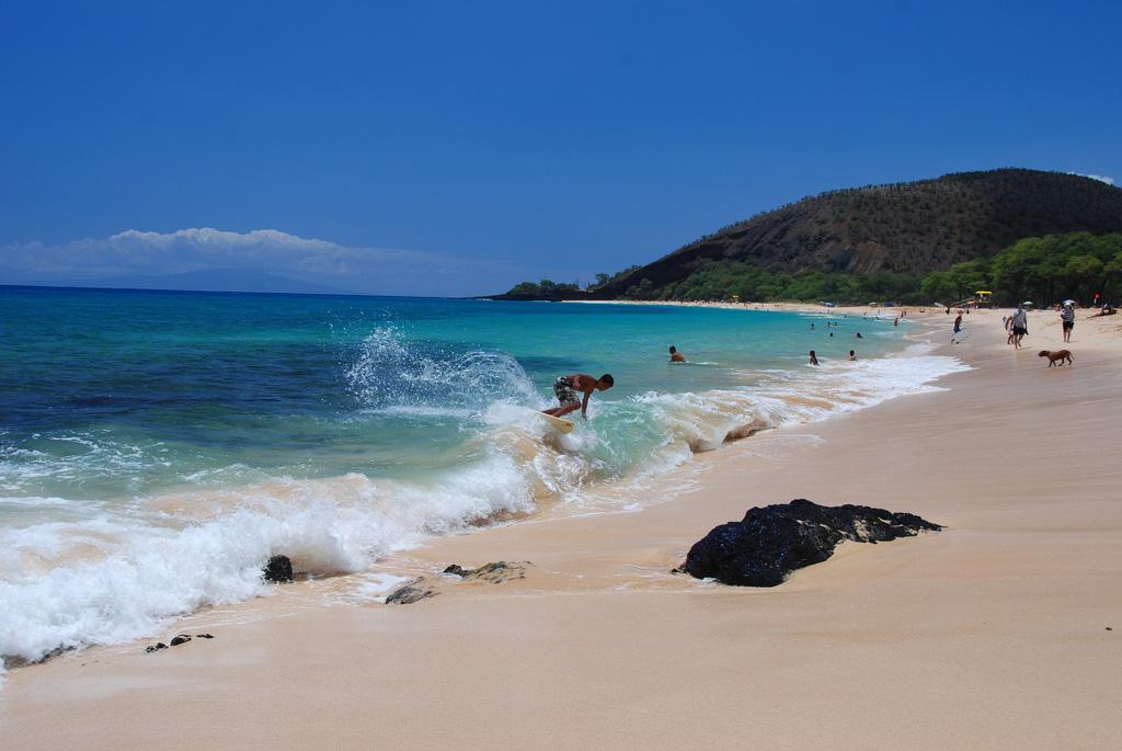 Пляж Биг Бич в США, фото 8