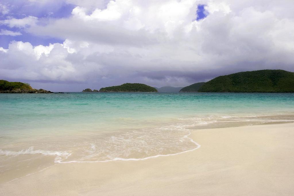 Пляж Циннамон Бей на Американских Виргинских островах, фото 2