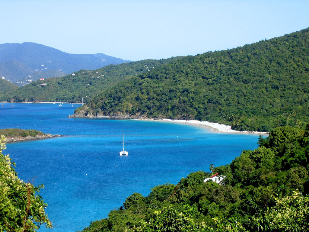 Пляж Циннамон Бей на Американских Виргинских островах, фото 3