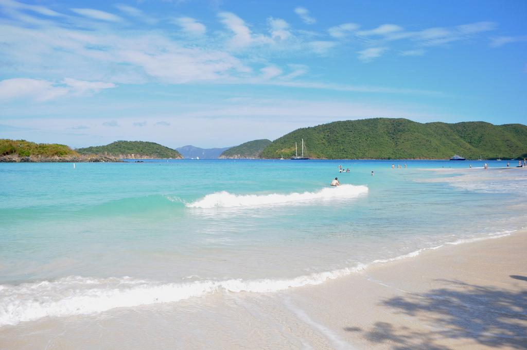 Пляж Циннамон Бей на Американских Виргинских островах, фото 4
