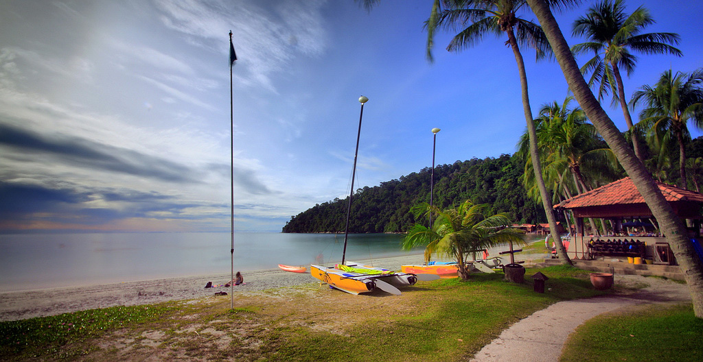 Пляж Пангкор в Малайзии, фото 1
