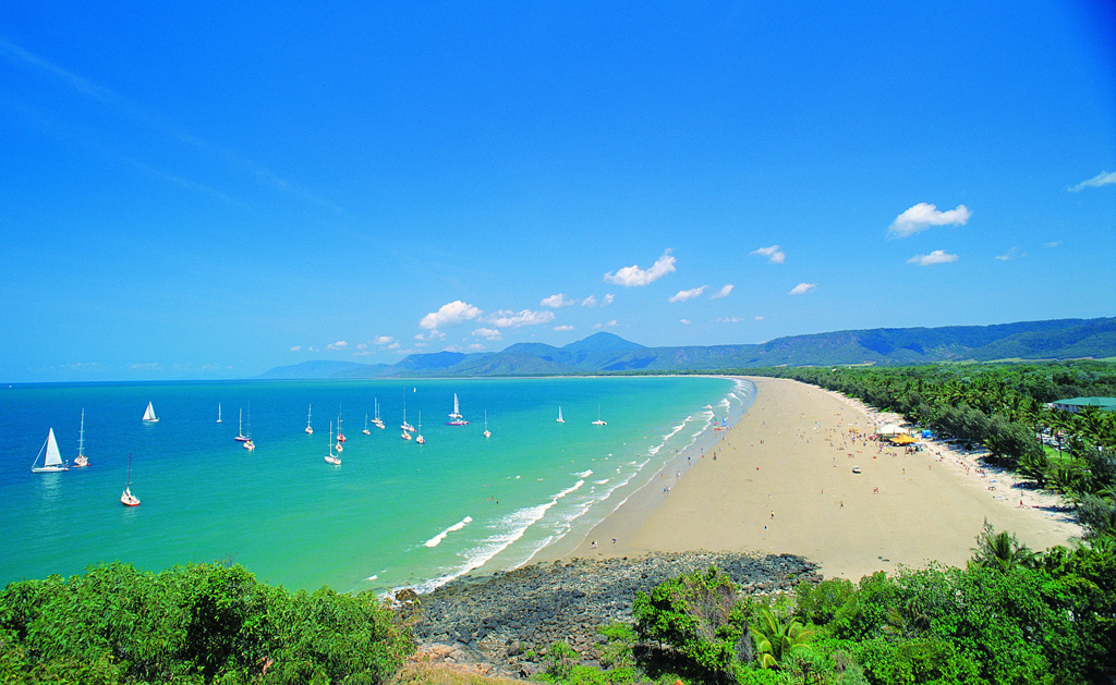 Пляж Порт Дуглас в Австралии, фото 1