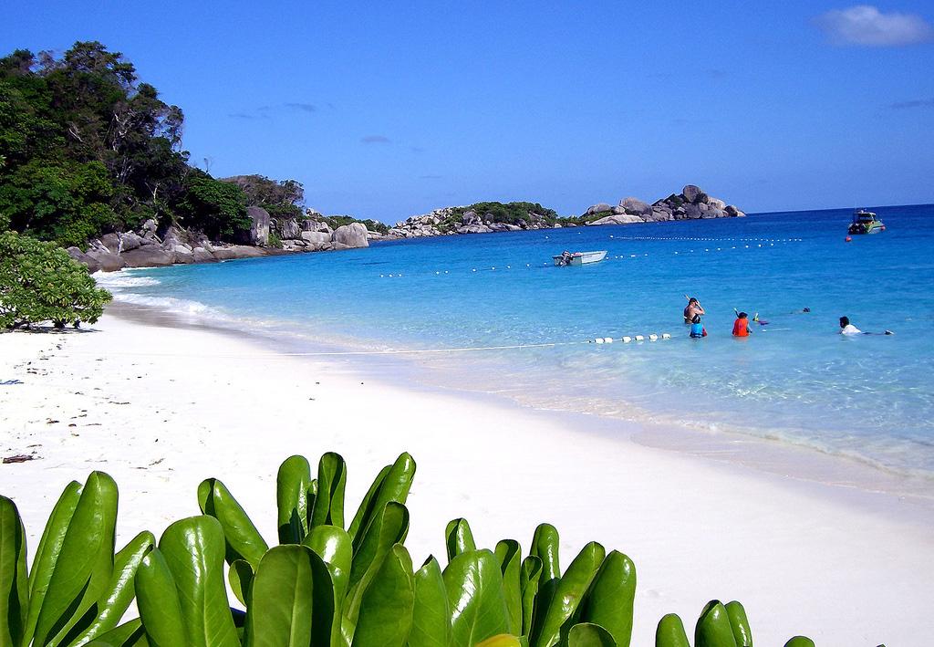 Пляж Симиланских островов в Таиланде, фото 1