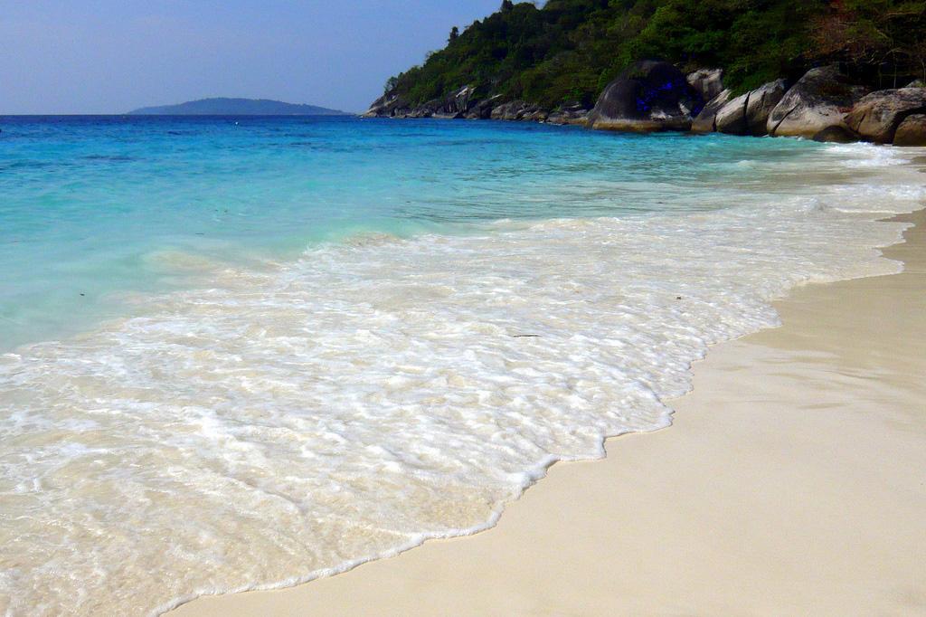 Пляж Симиланских островов в Таиланде, фото 4