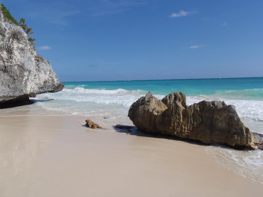 Пляж Тулум в Мексике, фото 1