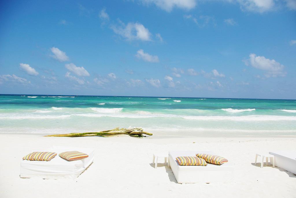 Пляж Тулум в Мексике, фото 2