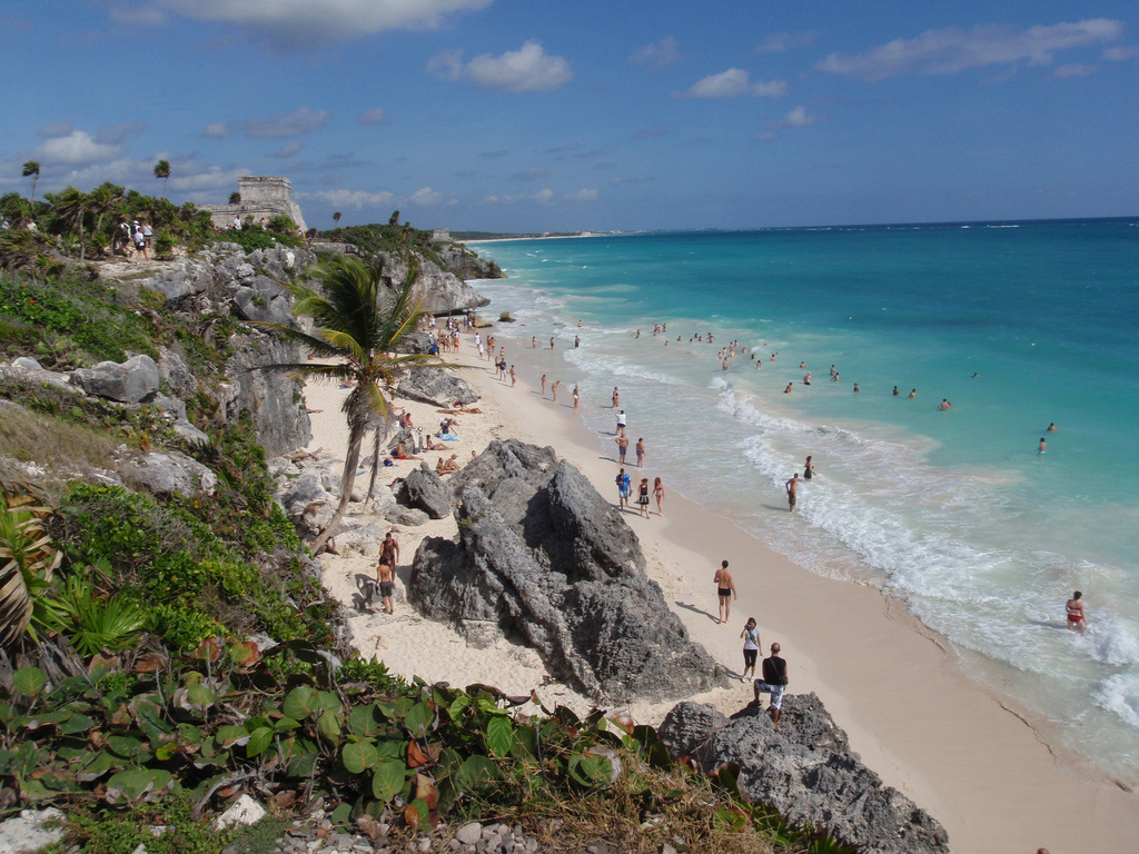 Пляж Тулум в Мексике, фото 4
