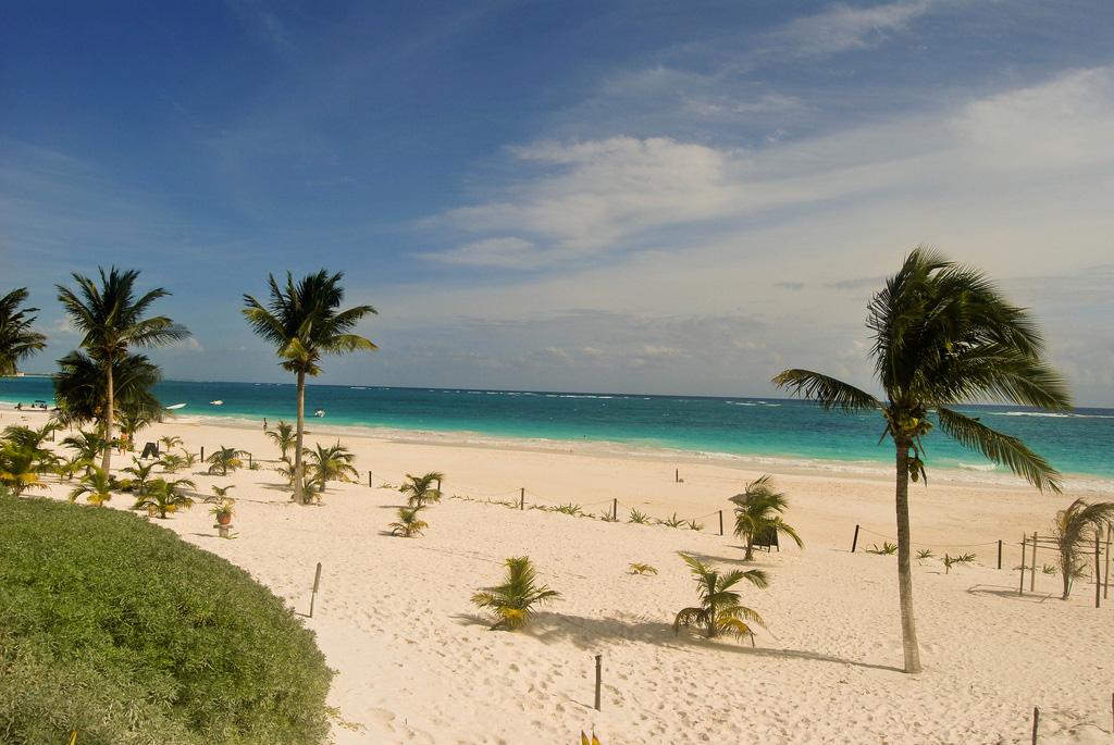 Пляж Тулум в Мексике, фото 5